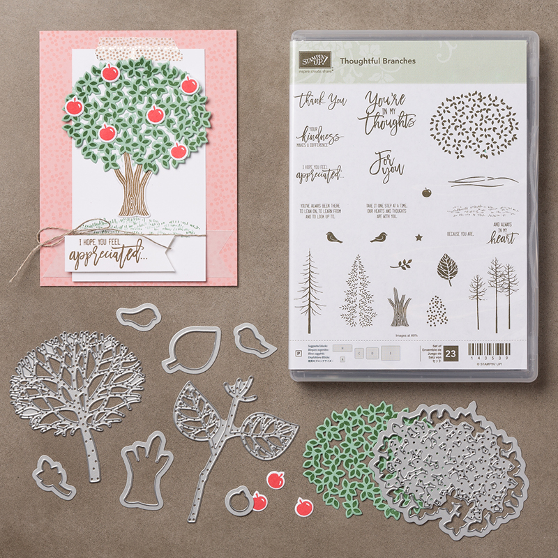 thoughtful branches, stampmecrafty.com, bundle, exclusive offer, stampin' up!, holidays