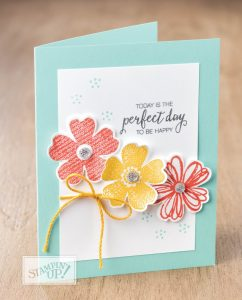 stampmecrafty.com, stampin' up!, Flower Shop, card class, clean and simple cards, fast and fabulous
