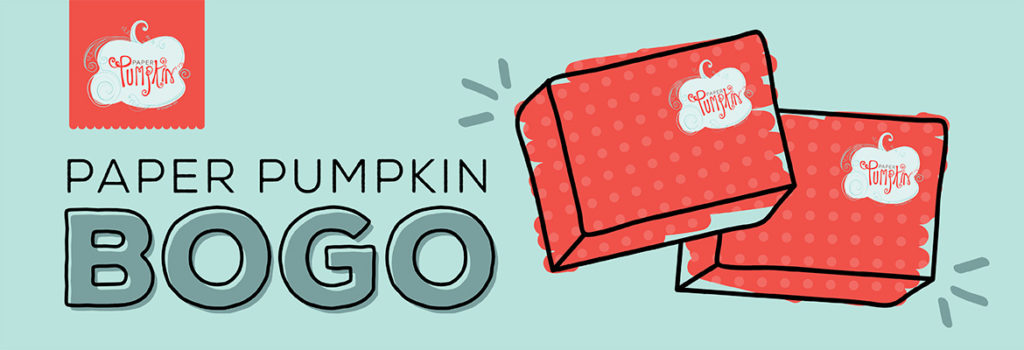 BOGO, Paper Pumpkin, stampmecrafty.com, stampin' up!, stampinup, sale, creativity to go sale