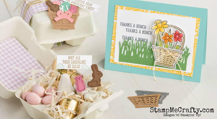 stampmecrafty.com, stampin' up!, easter, spring, treat holders, stamp camp