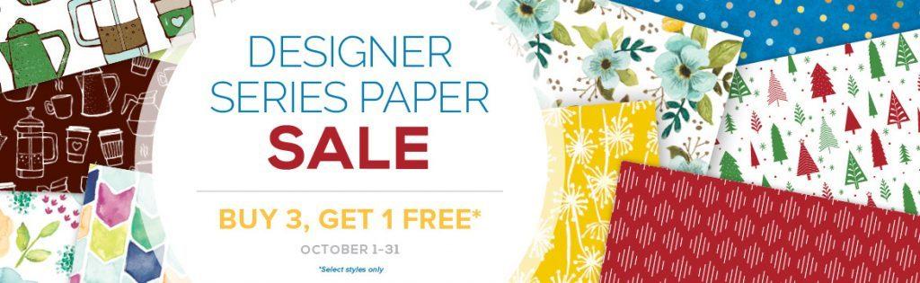stampmecrafty.com, stampin' up!, stamping up, designer series paper, sale, promotion, free