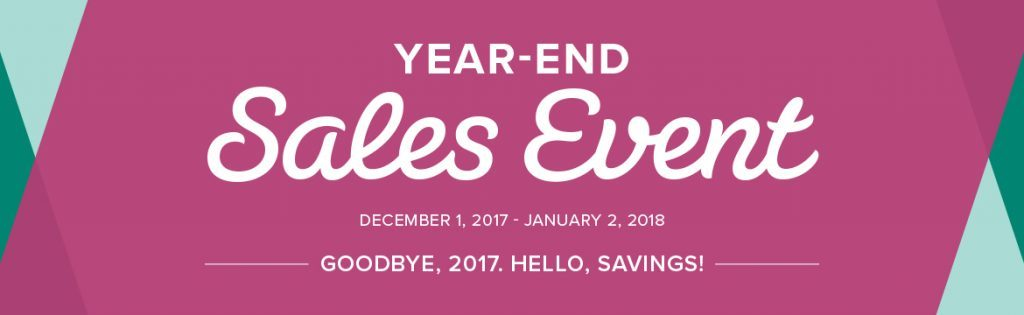stampmecrafty.com, stampin' up!, year end sales event, save now