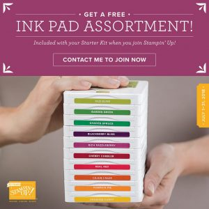 ink pad promotion, classic ink pads, starter kit special promotion, july specials, terri george, stamp me crafty, stampmecrafty.com, stampin' up!