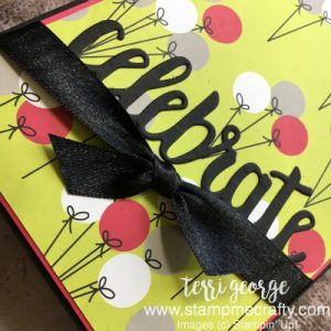 July Blog Hop, Broadway Bound Specialty DSP, Celebrate, Terri George, Pals Blog Hop