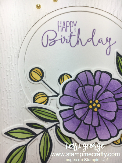 Close Up, Falling Flowers, Special Celebrations, Stamp Me Crafty, Pals Blog Hop, May Flowers Framelits, Birthday Card,