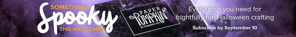 Paper Pumpkin, Halloween, Treats, Terri George, Stampin' Up!, Stamp Me Crafty, Creativity in a Box