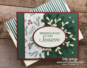 Pals September Blog Hop, Terri George, Stamp Me Crafty, Stampin' Up!, Christmas Card, Handmade Cards, Joyous Noel, Winter Woods, Seasonal Cards, Stampin' Up! Holiday Catalog