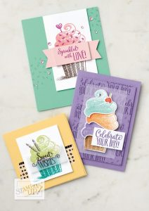 Birthday Bash Stamp-a-Stack, Terri George, Stampmecrafty.com, stampin' up!, handmade cards, paper-crafting