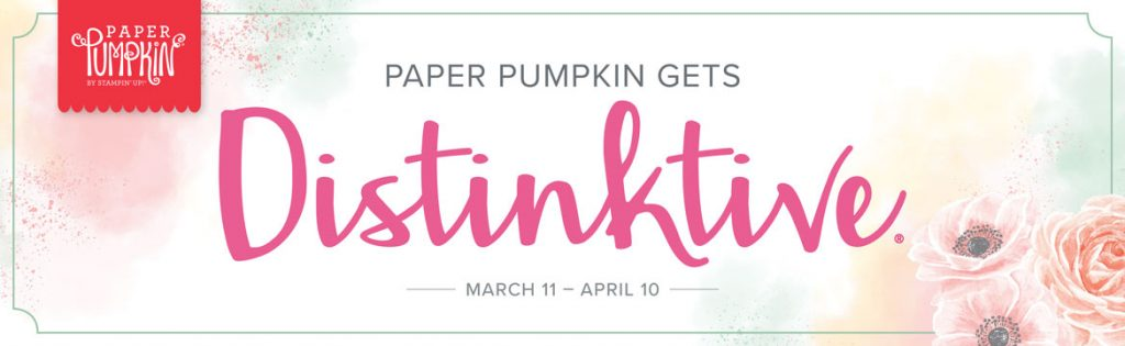 April Paper Pumpkin, distinktive stamps, terri george, stamp me crafty, stampin' up!, craft kits, papercrafting