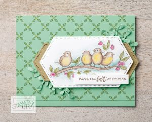 Free As a Bird Class, Bird Ballad, Stampin' Up!