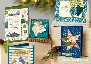 brightly gleaming, christmas club class, stamp camp, stampin' up!, holiday classes, christmas cards, handmade cards, 3D projects