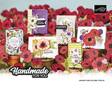 Handmade for You Mini Catalog 2020, Stampin' Up!, Terri George