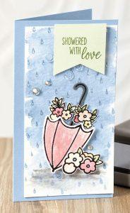 Under My Umbrella, Stampin' Up!, Stamp Me Crafty, stampmecrafty.com, Terri George, Class of the Month Club,