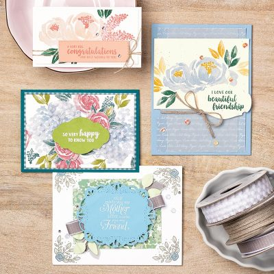 Beautiful Friendship, Class of the Month Club, stampmecrafty.com, Terri George, Stampin' Up!, Handmade Cards, Cardmaking, Papercrafting