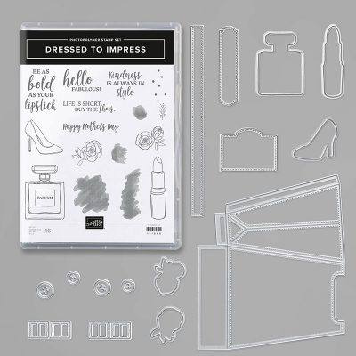April Class of the Month Club, Dressed To Impress Bundle, Mothers Day, Stampin' Up!, Terri George, Stamp Me Crafty