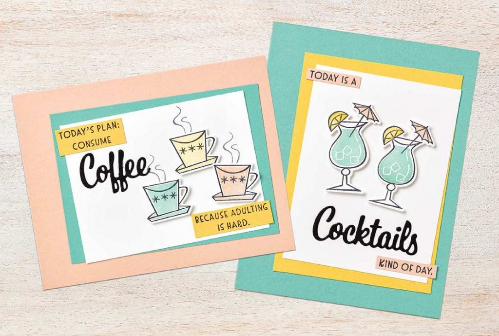 nothings better than bundle by stampin' up!, stamp me crafty, happy mail, love you more dies